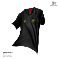 Jersey/baju bola TIMNAS INDONESIA fantasy kit SKD - Hitam