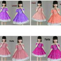 dress anak 0-5 thn gaun pesta kids baju kondangan ultah mini dress jln
