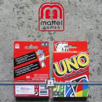 UNO Card ORIGINAL SNI Mattel Kartu uno Permainan Kartu