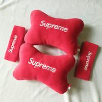 bantal mobil leher Supreme-Bantal Mobil 1 set