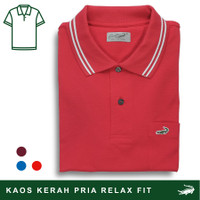 Crocodile DEFI Apple - Baju Kaos Kerah Pria Men Polo Original