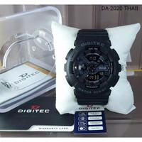 Jam Tangan Pria Digitec OriginaL DG2020T Dualtime Rubber