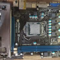 i3 3240 + MOBO Asrock H61 + Ram 2×2 Gb DDR3