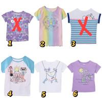 Kaos anak perempuan 5 tahun Garanimals baju anak branded sisa eksport