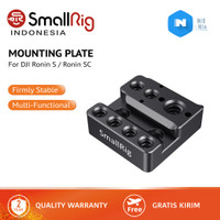 SmallRig Camera Mounting Plate for DJI Ronin S with Nato Rail Arri