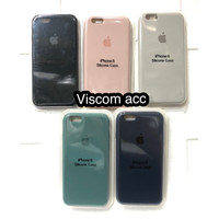 silicone case iphone 6s iphone 6g ori oem back cover