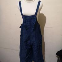 Baju Kodok Denim wanita second Import