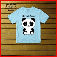 Kaos Anak Gambar Panda Original Cotton Combed 30s Baju Anak Murah