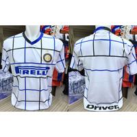 Football Tshirt Baju Bola INTERMILAN White Size L