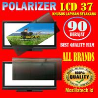 Plastik polarizer 37inch plastick polaris lcd 37 inch 90 derajat