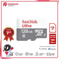 Micro SD 128GB Sandisk Ultra 100Mb/s MicroSDXC UHS-I - Garansi Resmi
