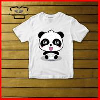 Kaos Anak Lucu Panda Baby Bus Original Cotton Combed 30s Baju Anak