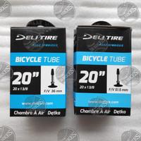 Ban Dalam Tube Sepeda 20 x 1 3/8 FV PRESTA. DELI TIRE - VALVE 36 mm