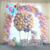 Balon Pastel / Balon Latex Macaron 1 Pack isi 100 Pcs / Balon Per Pack