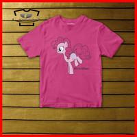 Kaos Anak Perempuan Kuda Poni Original Cotton Combed 30s Baju Anak