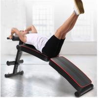 Alat Bantu Sit Up/Kursi Alat Fitness /Gym Bench Press/Push Up/Premium