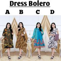 Eksklusif Dress Bolero // Tunik Batik Modern // Atasan Kerja Wanita