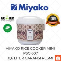 Miyako Rice Cooker Mini PSG 607 0.6 Liter / Mejicom / Mejikom Murah
