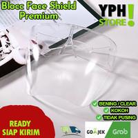 Face Shield Blocc Premium // Full Shield For Mask // Full Face Mask