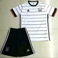Stelan Jersey Baju Bola Timnas Jerman Home 1 Satu Stel Set 2020 2021
