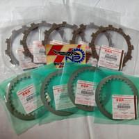 Paket kampas kopling+ plat totol suzuki rgr Original SGP pnp satria fu