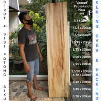 Papan kayu baru lebar 45cm Tampa sambungan