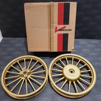 Velg Racing V-Rossi Sprint Andromeda Vario 110 Beat Ring 14 Gold Matt
