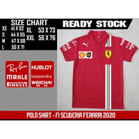 POLO SHIRT F1- Scuderia Ferarri 2020