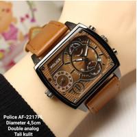 Jam tangan pria police brown