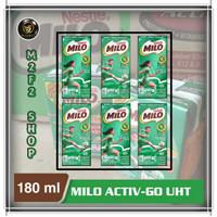 Susu Milo Kotak Coklat ACTIVE GO UHT - 180 ml (Harga 6 Pcs)
