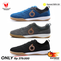 Sepatu Futsal Ortuseight Jogosala Dominator Ortus Original Murah - 39, Hitam