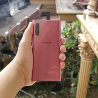 Samsung galaxy note 10 256 gb 256gb rose gold aura pink garansi sein