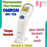 Thermometer Infrared OMRON MC 720 For Head