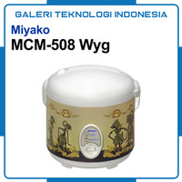 Rice Cooker MIYAKO MCM 508 Wayang 3IN1