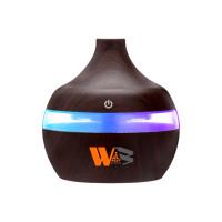 Air Humidifier Aromatherapy Pengharum Kamar Tidur Alat Aroma Terapi - Kayu Gelap