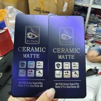 Xiaomi Redmi Note 9 Pro Ceramic Matte Anti Blue Ray Screen Guard