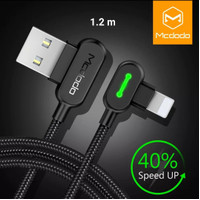 MCDODO charger for iphone apple X 8 7 6 6s 5 fast charging 1.2 m