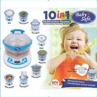 Baby Safe 10 in 1 Multifunction Steamer LB005 Food Maker Slow Cooker