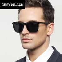 Greyjack Sunglasses Polarized Kacamata Hitam Fashion Dewasa TR 3333 - black glossy