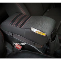 Car Arm Rest Carbon / Bantal Sandaran siku Tangan Premium Quality