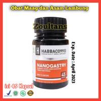 Nanogastry Obat Magh Herbal Radang Tenggorokan, Usus dan Pencernaan