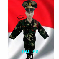 seragam Tni AD anak anak/baju TNI AD anak anak