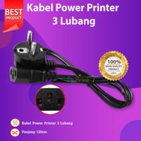 Kabel Power Komputer Colokan Listrik 3 Lubang Adaptor Printer Canon HP