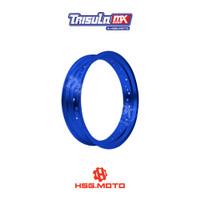 VELG SUPERMOTO TMX ALUM MT RIM 3.50x17 36H - BLUE