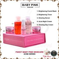 BABYPINK BABY PINK SKINCARE for ACNE 1 SET ORIGINAL BPOM