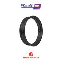 VELG SUPERMOTO TMX ALUM MT RIM 2.50x17 36H - BLACK