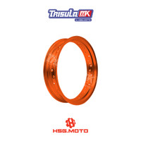 VELG SUPERMOTO TMX ALUM MT RIM 3.50x17 36H - ORANGE