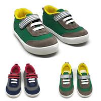 sepatu sneaker anak cowok laki trendy keren usia 1 tahun 2 tahun hijau