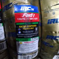 ban balap IRC FASTI 1 uk 130/70-17 ring 17 Slick Tire Soft Compound