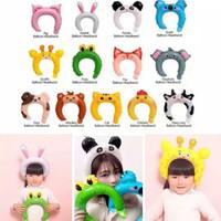 Balon Foil Bando / Headband Ballon Hello Kitty, Donald Tsum Tsum,